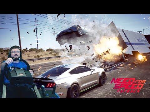 Ограбление на шоссе и Infinity Q60 S в Need for Speed: Payback на руле Fanatec Clubsport