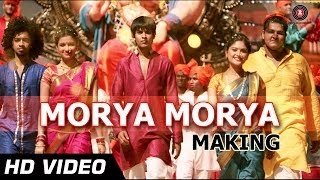 Morya Morya Making | Janiva | Daler Mehndi | Satya Manjrekar | Marathi Dance Songs