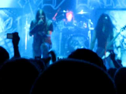 Iced Earth - Angels Holocaust/Slave to the Dark Live, Nosturi, Helsinki, Finland 01.12.2011