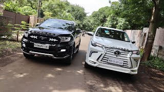 Modified Ford Endeavour & Toyota Fortuner | 2019 Ford Endeavour | 2019 Toyota Fortuner | Modified