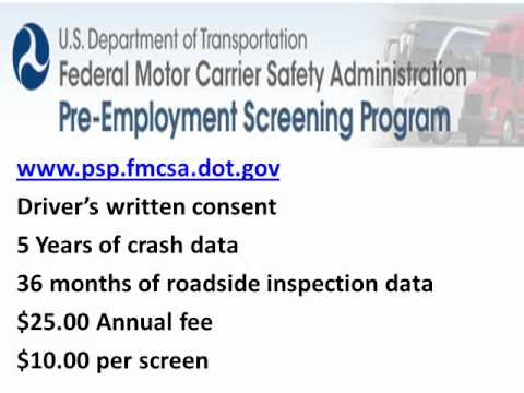 My blog for Federal motor carrier safety regulations pdf
