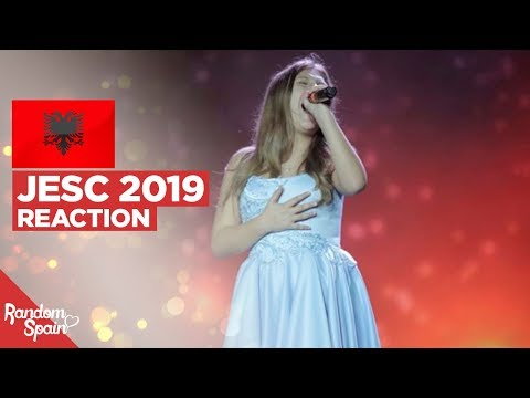 REACTION Isea Çili - Mikja Ime Fëmijëri | Albania Junior Eurovision 2019
