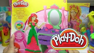 PlayDoh Disney Princess Ariel Magic Mirror Clay