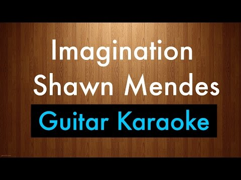 """Imagination"" - Shawn Mendes Karaoke Lyrics (Acoustic Guitar Karaoke) Instrumental"