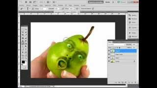 Tutoriales Photoshop : Fotomanipulación con fruta