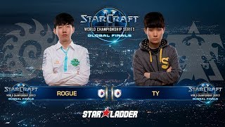 2018 WCS Global Finals Ro8 Match 3: Rogue (Z) vs TY (T)