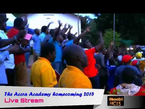LIVE at Accra Academy homecoming 2015 (Part 2)