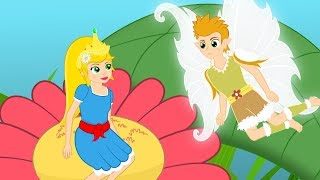 A Polegarzinha (THUMBELINA)  - Historia completa - Desenho animado infantil com Os Amiguinhos