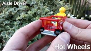 Aisle Driver - Hot Wheels