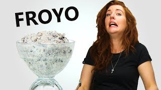 Irish People Taste Test Frozen Yogurt