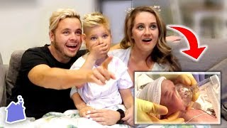 REACTING TO HIS BIRTH VIDEO!