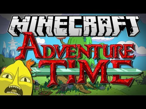 Minecraft ADVENTURE TIME Adventures with Finn and Jake Adventure Map 1.6.2