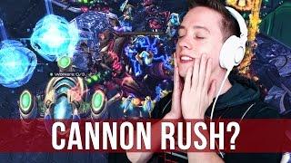 StarCraft 2: Cannon Rush? No Problem!