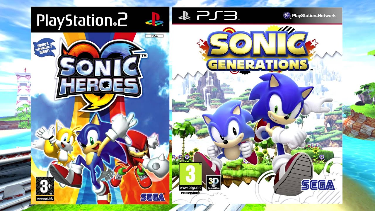 Sonic Heroes and Generations Seaside Hill (Classic) Music Fused