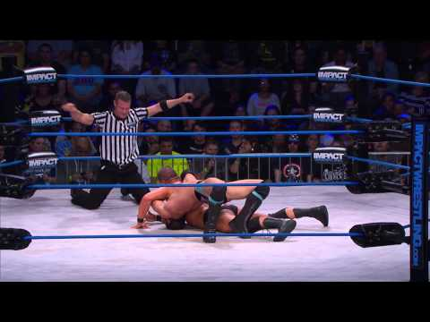 Elimination Match: Bobby Roode Vs Jeff Hardy Vs Austin Aries Vs Eric Young (oct 15, 2014) video