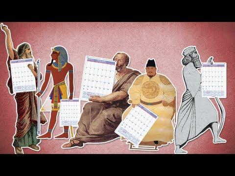 Mūsdienu kalendāra vēsture