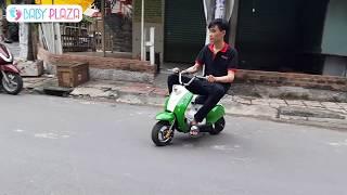 Xe máy điện mini E-scooter 24V Baby Plaza