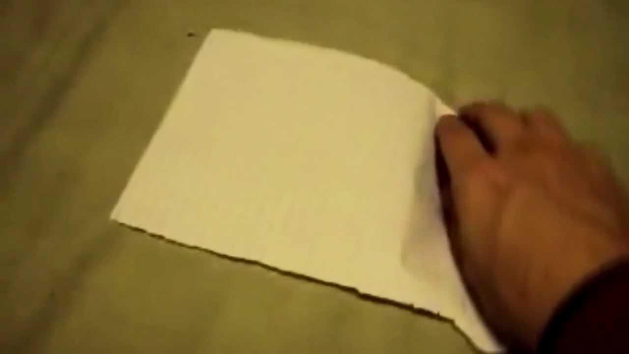 Как свернуть оригами