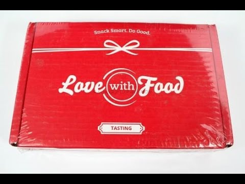 Love with Food October 2015 Tasting Box Review + Coupon Codes