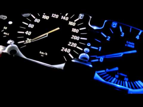 BMW backlight conversion of instrument cluster E38/E39/E53