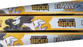 3 LEGENDEN AUS EINALL KOLLEKTIONEN! 15 Majestät der Drachen Booster Pokemon Unboxing Opening