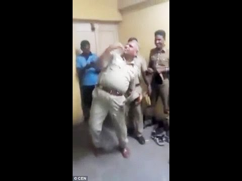 Indian Prison Officer Is Suspended After Incredible Video Of Him Dancing Goes Viral!!!