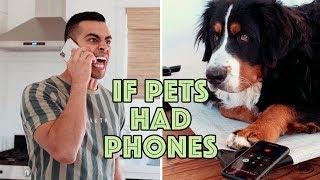 If Pets Had Phones | David Lopez