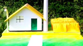 ECO FRIENDLY HOUSE MODEL | PROJECT FOR SCIENCE EXHIBITION | SCIENCE PROJECTS AND EXPERIMENTS