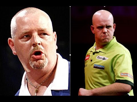 Premier League Of Darts 2013 - Week 14 - Thornton VS van Gerwen HD
