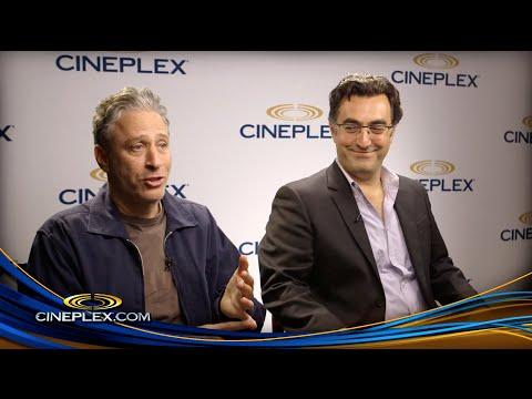 Jon Stewart, Maziar Bahari and Gael Garcia Bernal, Rosewater - Cineplex Interview