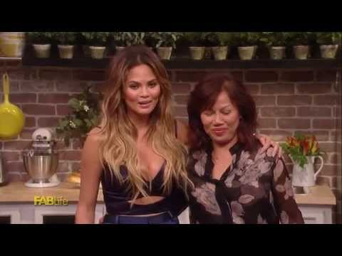 Chrissy Teigen and Mom Pepper Cook One Pot Meal