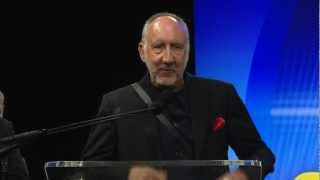 28th Annual TEC Awards - Pete Townshend Acceptance