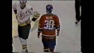 """Canadiens-Bruins - """"Brawl in the Hall"""" 1986"""