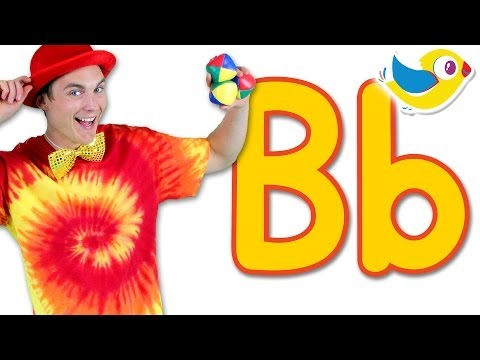 The Letter B Song - Learn the Alphabet