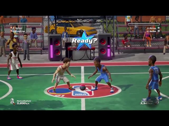 Руководство запуска: NBA Playgrounds по сети