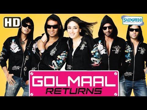 Golmaal Returns (HD) Hindi Full Movie in 15mins | Ajay Devgan | Kareena Kapoor | Tusshar Kapoor thumbnail