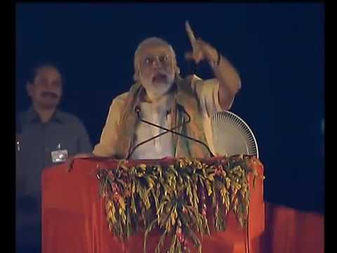 Modi Very Funny Speech Varanasi, at E boat Programme