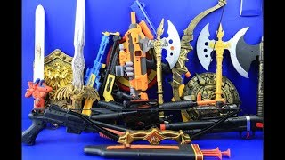 Box of Toys ! GUNS BOX Toys Military & Police equipment | Gun toy (6)