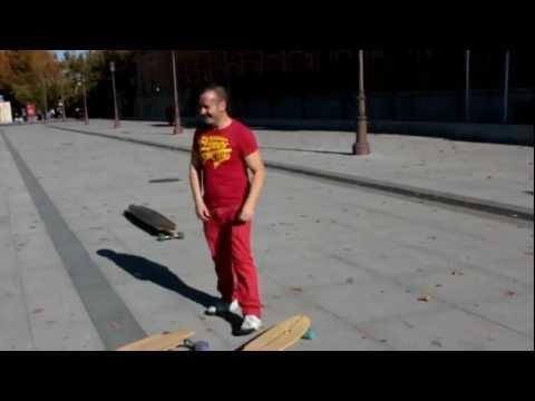 Longboard en Sevilla con Diego