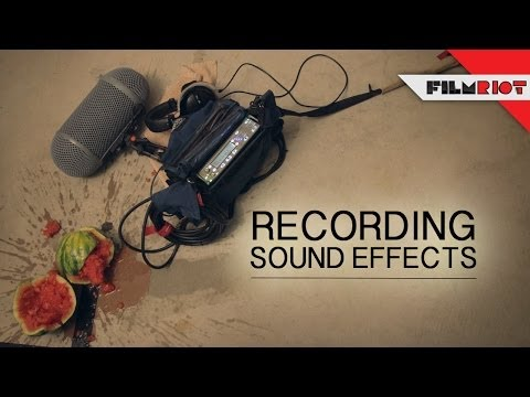 how to make your own sound effects