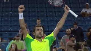 Marin ?ili? - Road to first ATP Masters 1000 CINCINNATI (2016)