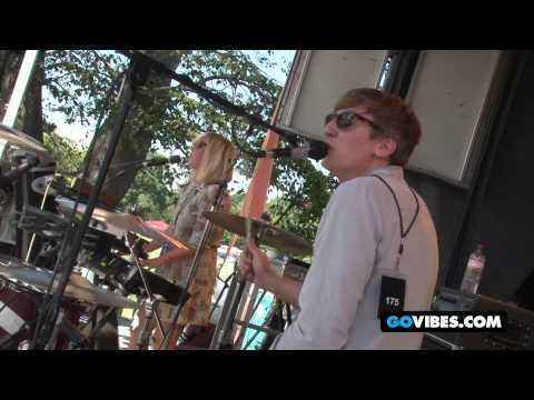 "Mates of State Perform ""Unless I'm Dead"" into ""The Rearranger"" at Gathering of the Vibes 2012"