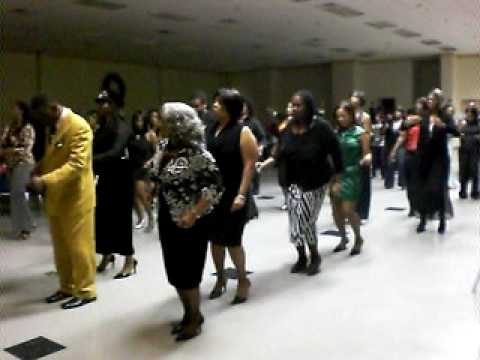 how to do the wobble line dance