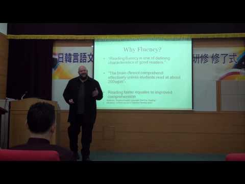 Noel Woodward @ Busan KOTESOL Fluency Symposium