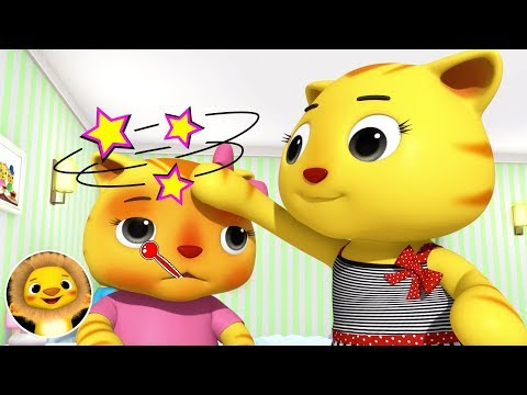 Get Well Soon, SICK SONG! | Nursery Rhymes & Kids Songs! | Baby Songs | Little Baby Animals