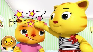 Get Well Soon, SICK SONG! | Nursery Rhymes & Kids Songs! | Baby Songs | Little Baby Animals