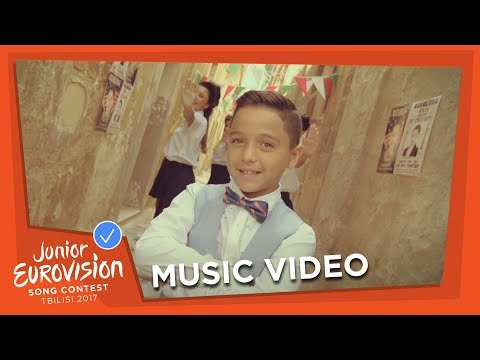 GIANLUCA CILIA - DAWRA TOND - MALTA 🇲🇹  - JUNIOR EUROVISION 2017 - OFFICIAL MUSIC VIDEO