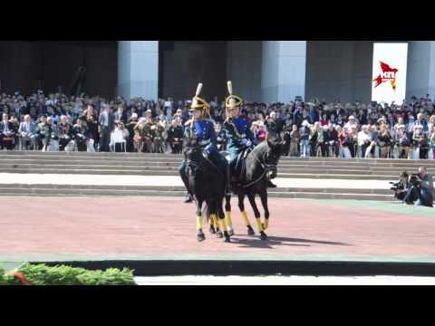 Первый московский парад кадетов на Поклонной горе