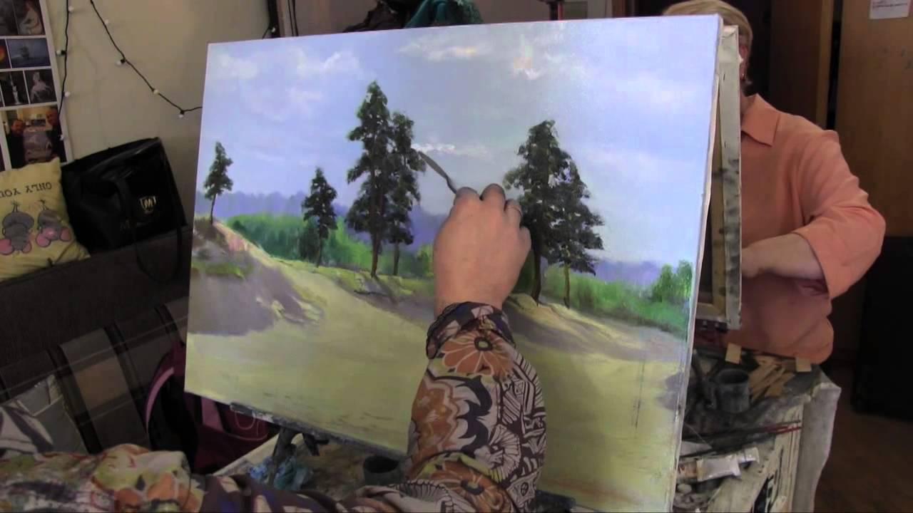 Научиться рисовать лес