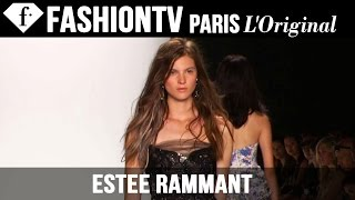 Model Estee Rammant | Beauty Trends for Spring/Summer 2015 | FashionTV